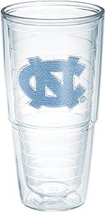 Tervis North Carolina University Emblem Individual Tumbler, 24 oz, Clear - 1007156