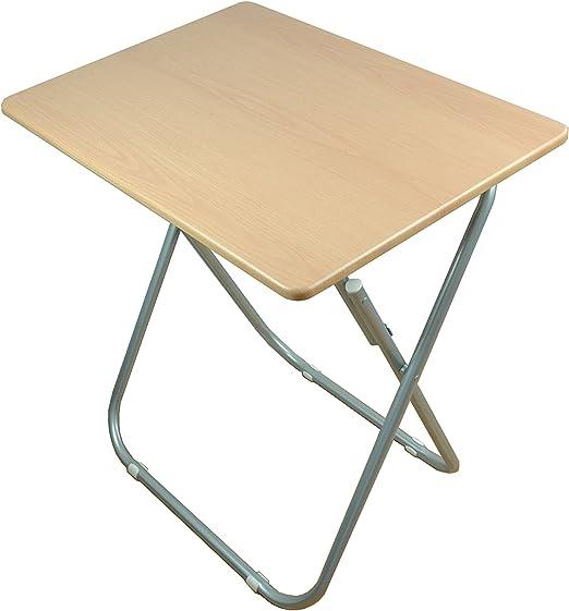 WB - Mesa auxiliar plegable de madera 72 x 70 x 50 cm,Rectangular ...