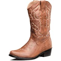 SheSole Womens Western Cowgirl Cowboy Boots