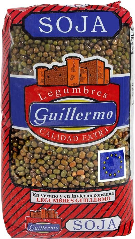 Guillermo Soja Verde Legumbres Calidad Extra 1Kg 1000 g ...