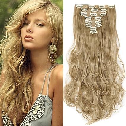 Extension a clip capelli ricci