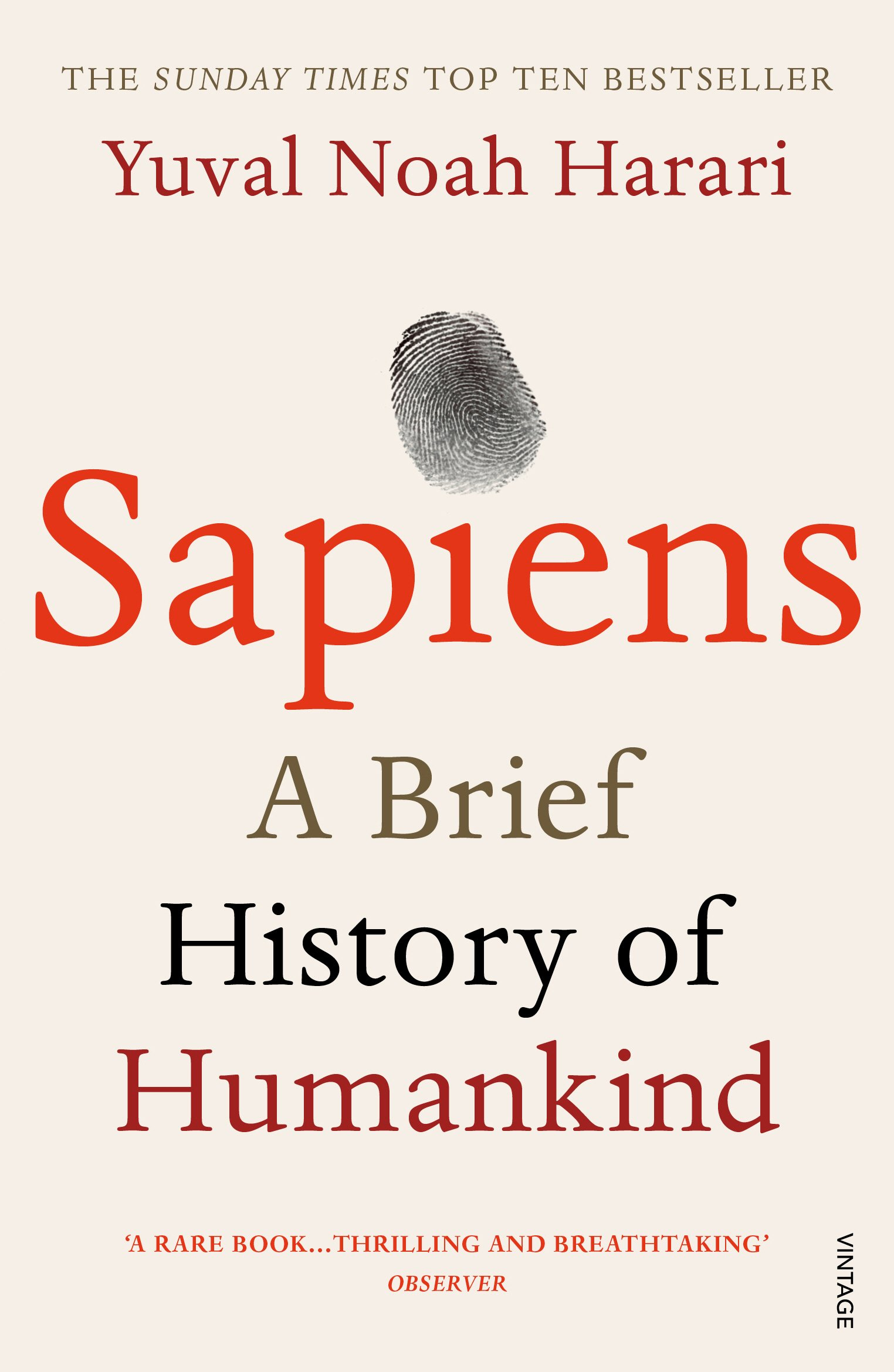 Sapiens - A Brief History of Humankind - 5 Impactful Books