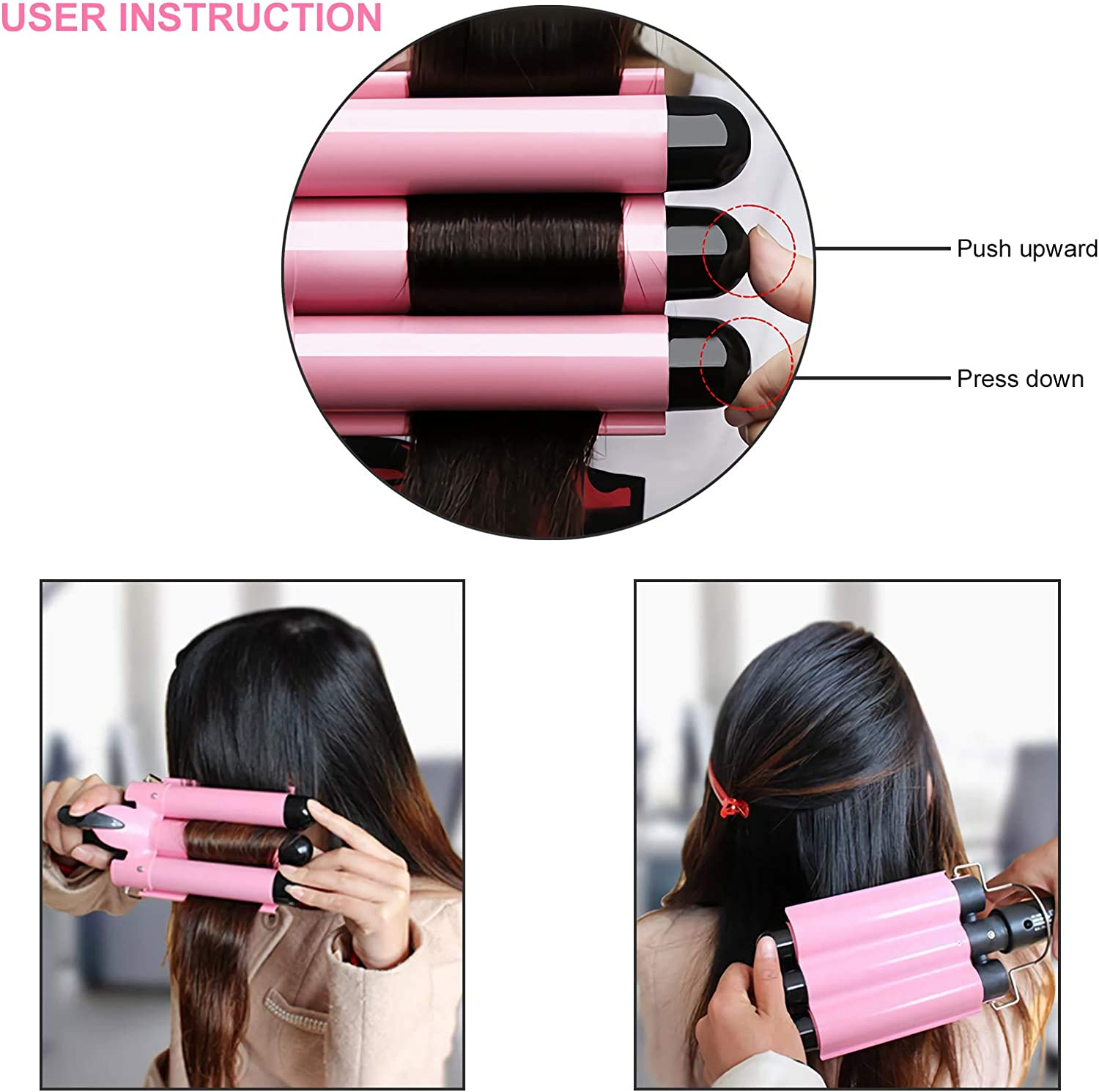Amazon Promo Code for 3 Barrel Curling Iron 25mm