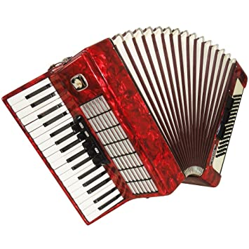 Weltmeister Stella 80 Bass, German Used Piano Accordion For Sale