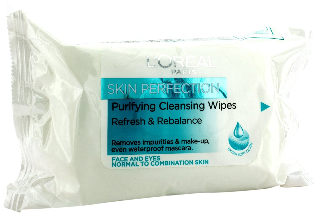 L'Oreal Paris Skin Perfection Purifying Cleansing Wipes L' Oreal 3600522783329