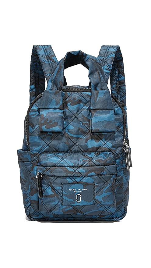 e7a9ef76e42a Marc Jacobs Women s Camo Printed Nylon Knot Backpack  Amazon.in  Sports