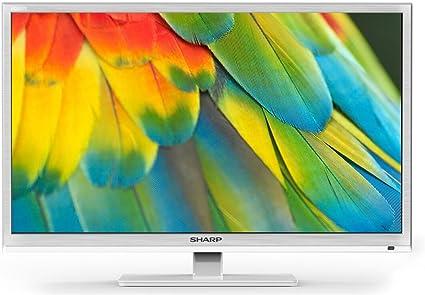 Sharp lc-24chf4012ew TV 24 blanco HD ready, Active Motion 100, DVB-T/T2/C/S2: Amazon.es: Electrónica