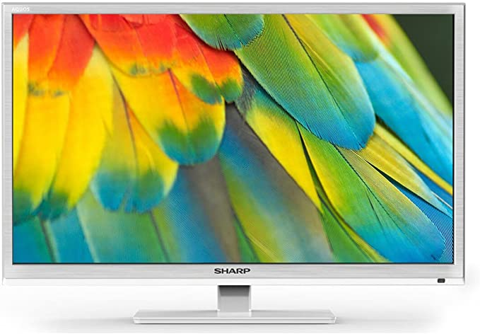 Sharp lc-24chf4012ew TV 24 blanco HD ready, Active Motion 100, DVB-T/T2/C/S2: Amazon.es: Electrónica
