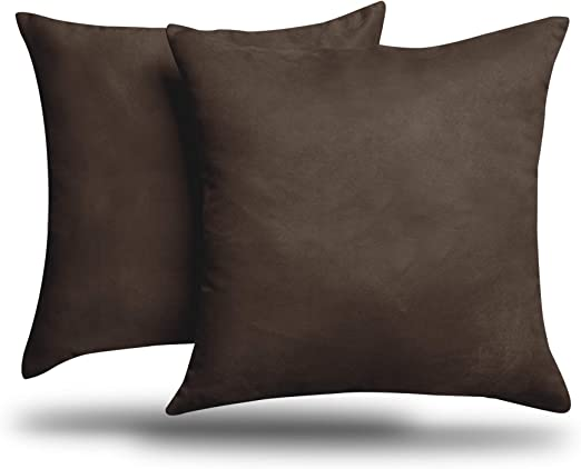 """mink and black cushion covers Why Buy From NEXT? 4 22/"""" x 22/"""" Trendy Brown"""