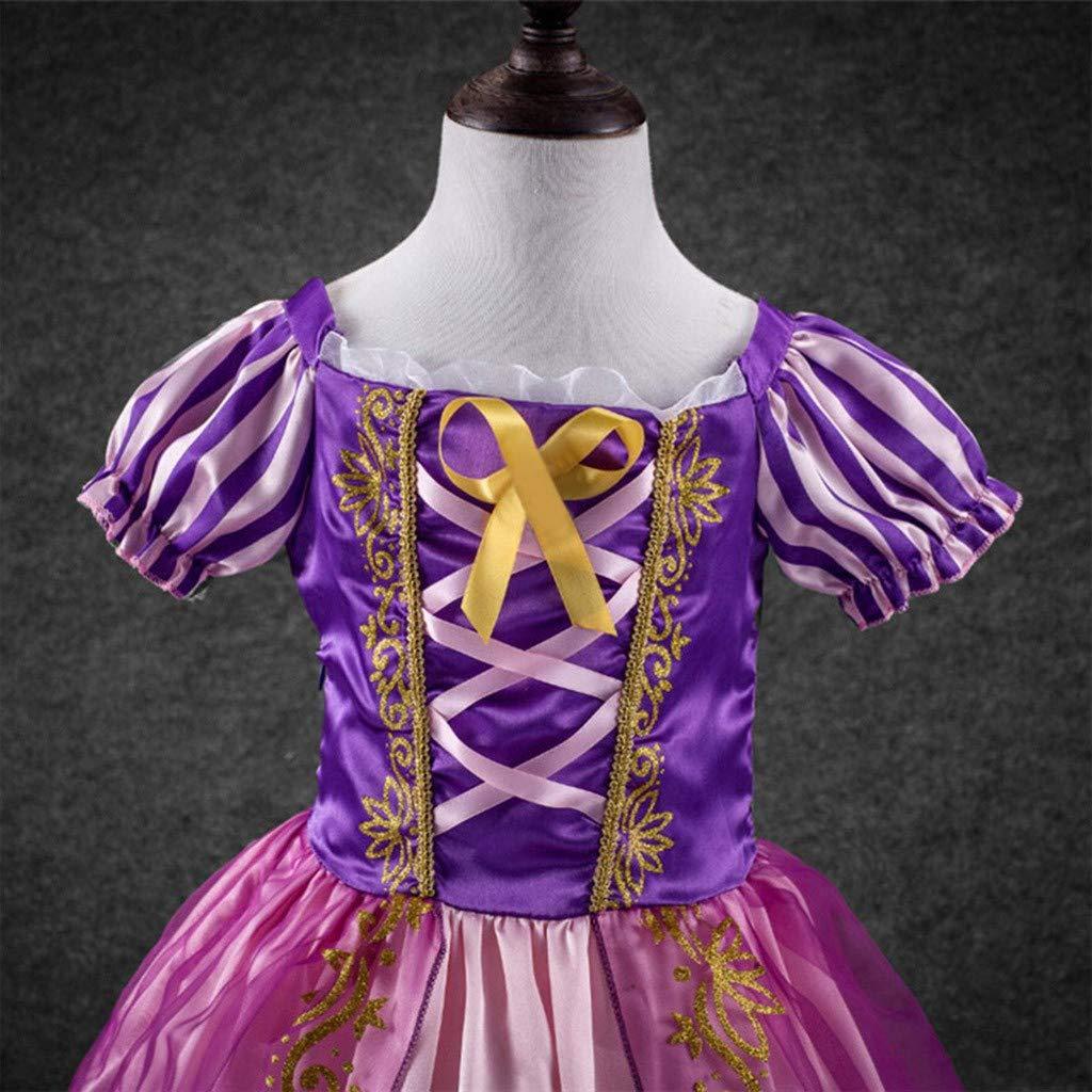 Xmiral Vestido de Princesa Vintage de Rayas para Cosplay Disfraz ...
