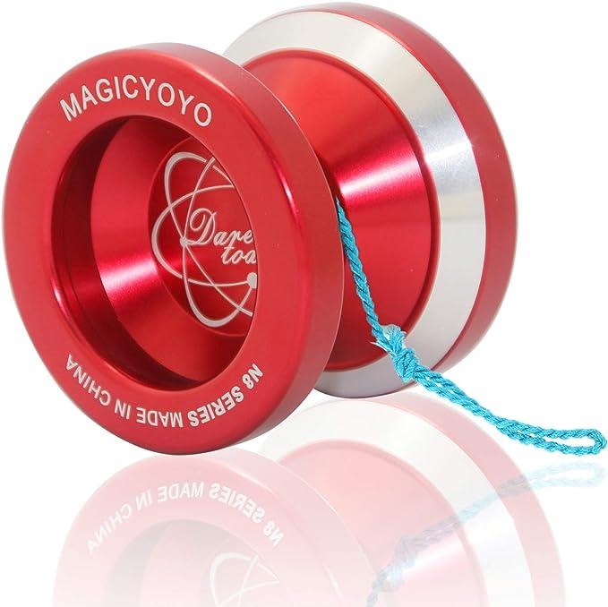 String Glove Cool Design Details about  /Magic YoYo Professional N8 Super YoYo Red Bag