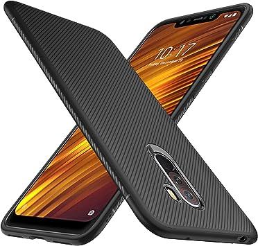 iBetter Xiaomi Pocophone F1 Funda Fina de Silicona, Xiaomi ...