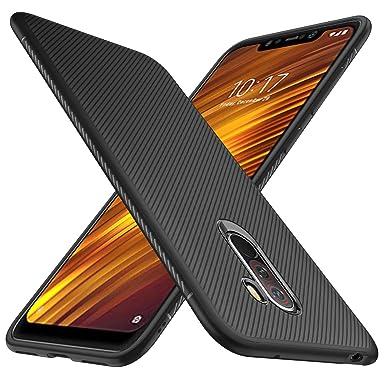 huge discount 29f17 a99db iBetter Xiaomi Pocophone F1 Case, Premium Soft TPU Gel Xiaomi ...