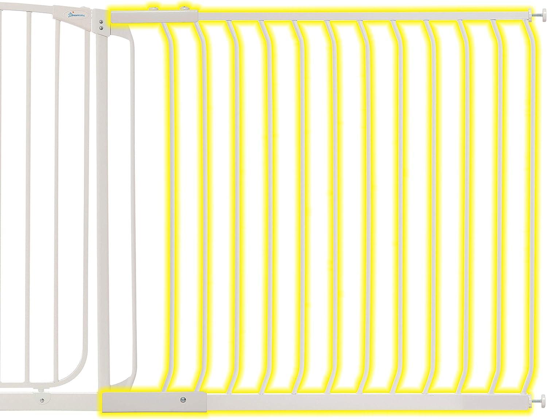Dreambaby Extensi/ón 27 cm para la Barrera de Seguridad Liberty Extra Alta blanca