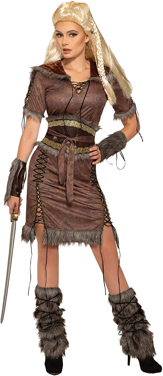 Women's Viking Shield Maiden Costume