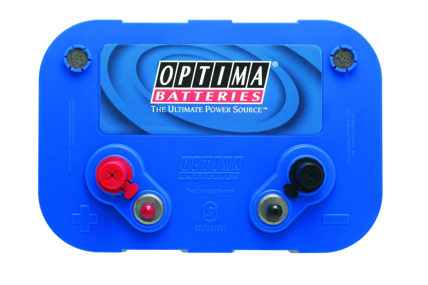 Optima Batteries 8016-103 D34M BlueTop Starting and Deep Cycle Marine Battery by Optima