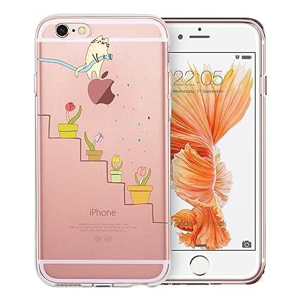 Amazon.com: iPhone 6 Caso, doramifer Funny Serie Soft TPU ...