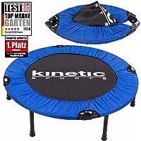 Kinetic Sports Fitness Trampolin Indoor Tramplolin Home Trampolin Minitrampolin, Durchmesser 91, 96, 102, 122 cm faltbar