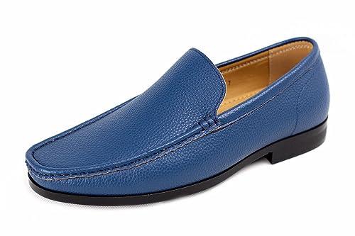 ab10fb12c83a3 Bateau De Mens À Enfiler Décontracté Chaussures Bateau Smart Cuir Office  Concepteur De Conduite Mocassins -