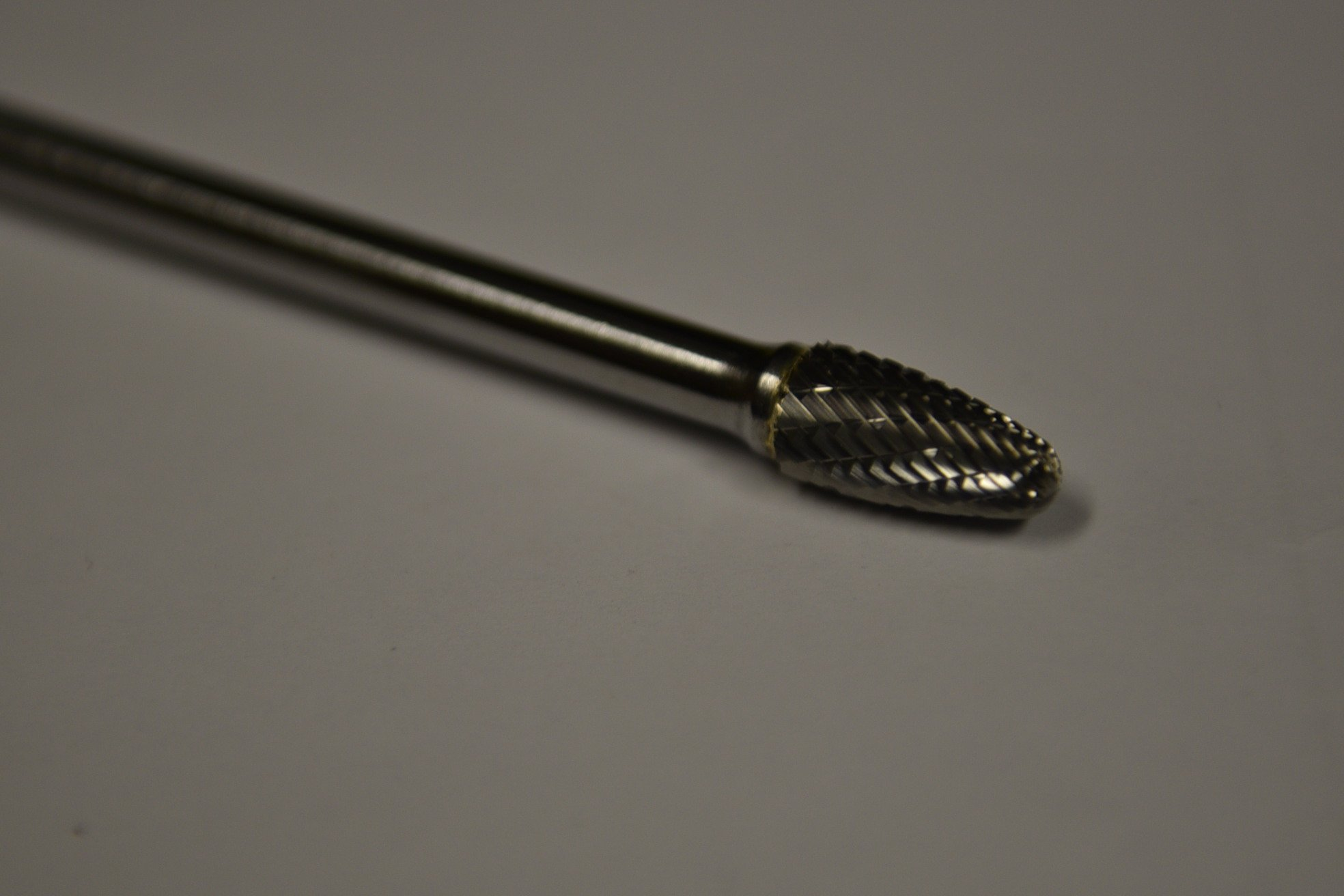SF-3L6 Solid Carbide Burr Die Grinder Bit 3/8'' x 3/4'' on 6'' Long Steel Shank