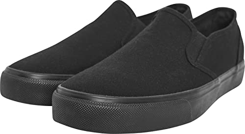 Unisex Adults Low Sneaker Slip on Trainers, Black, 4 Urban Classics