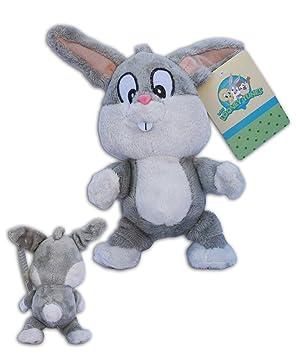 Bugs Bunny Baby 20cm Muñeco Peluche Suave Conejo Warner Baby Looney Tunes Dibujos Animados: Amazon.es: Juguetes y juegos