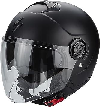 Scorpion Exo City Solid Motorcycle Jet Helmet Silver Sport Freizeit