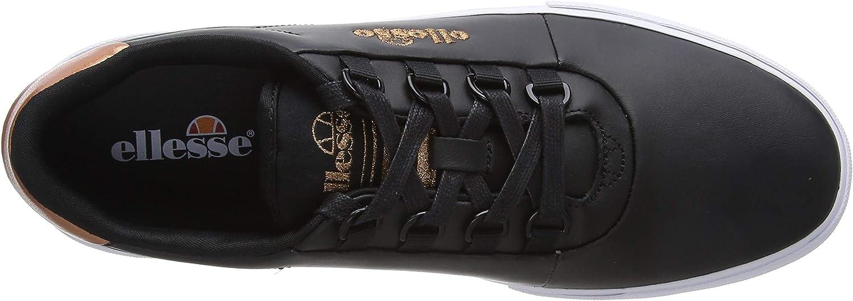 Ellesse Alto D-lux, Baskets Femme Noir Black Black Blk Blk