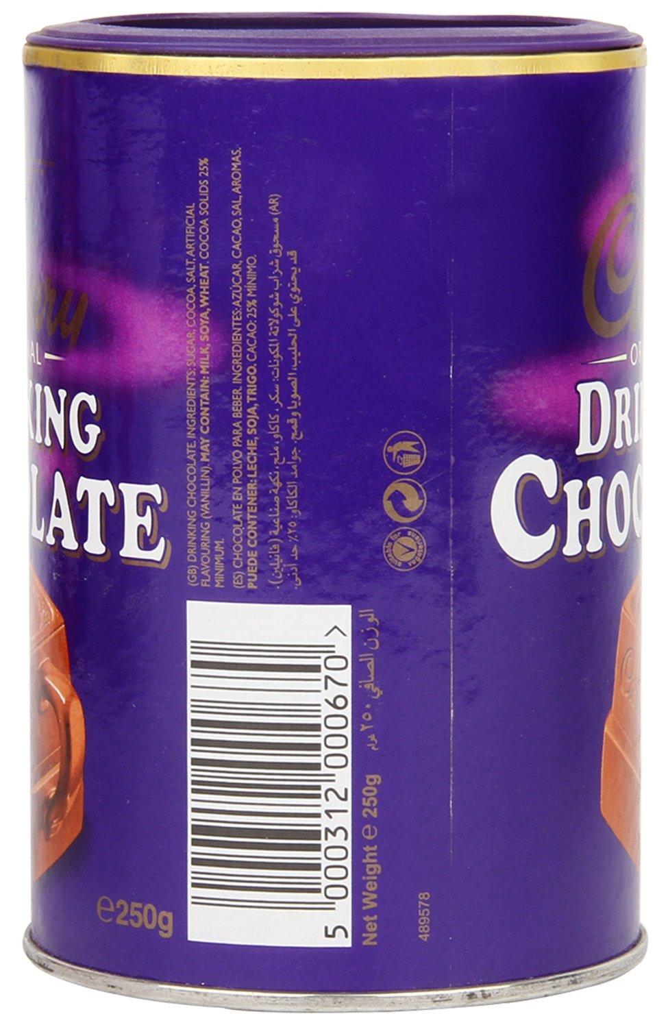 Cadbury Drinking Chocolate 250 gram (8.8oz)