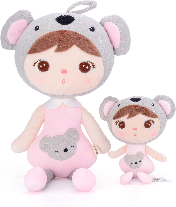 MeToo Muñeca de peluchepara bebé y niña Regalo de cumpleaños para niños (Koala Girl Doll) ...