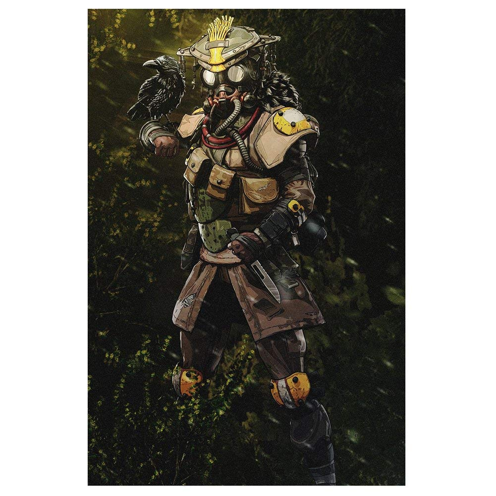 Amazon.com: Jacobera APEX Legends Poster Wall Decal Sticker ...