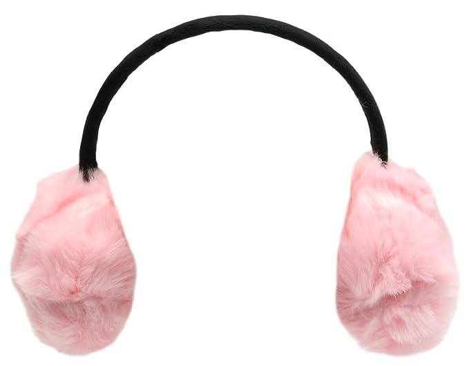 signore peluche paraorecchie di Rjm Pink Taglia unica: Amazon.it:  Abbigliamento