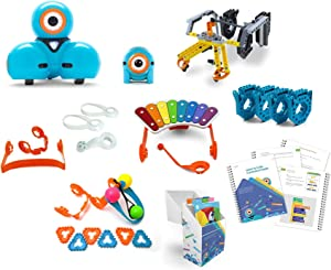 Wonder Starter Pack – Coding Robot for Kids 6+ – Voice Activated – Navigates Objects – 5 Free Programming STEM Apps – Creating Confident Digital Citizens