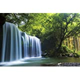 1000ピース ジグソーパズル 癒しの水簾(熊本県鍋ヶ滝) (50x75cm)