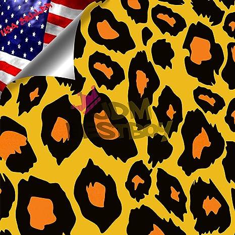 Amazon.com: Leopard Patrón de Jaguar Cheetah vinilo ...
