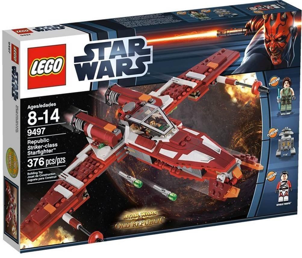 LEGO Star Wars  9497 - Republic Striker-class Starfighter