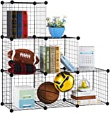 Grid Wire Modular Shelving and Storage Cubes Amazoncouk Kitchen