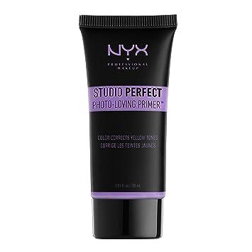 NYX Studio Perfect Primer, Lavender, 1.0 oz/30ml Ounce