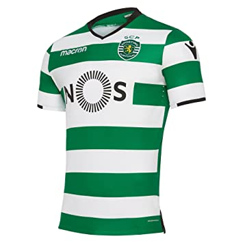 e20af5fc146 Macron sporting clube de portugal 2017 adults' home match jersey ...