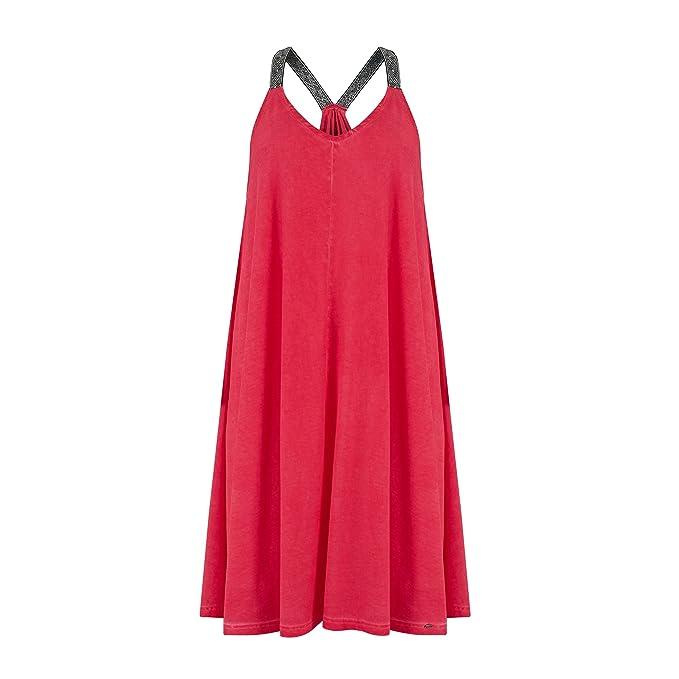 1ba993db9f Animal Vestido - para mujer Rojo Cranberry Red 25 EU  Amazon.es  Ropa y  accesorios