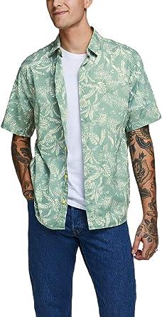 Jack & Jones Camisa Manga Corta JORELRON Shirt SS para Hombre Hombre: Amazon.es: Ropa y accesorios
