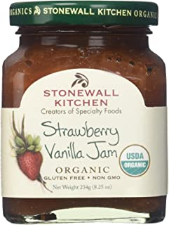 product image for Stonewall Kitchen Strawberry Vanilla Organic Jam, 8.25 Ounces