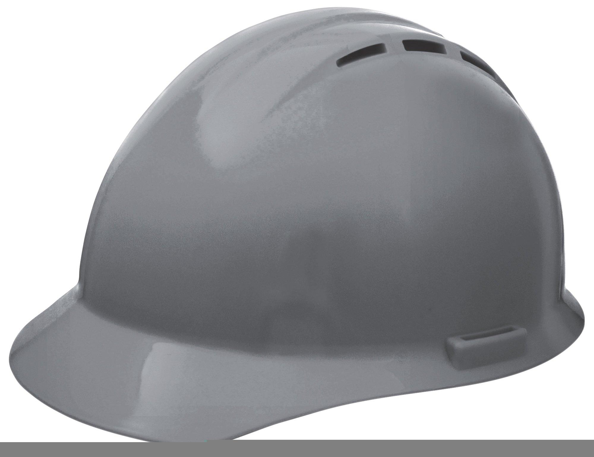 ERB Safety Products 19457 Americana Vent Mega Ratchet, Size: 6 1/2 - 8, Gray