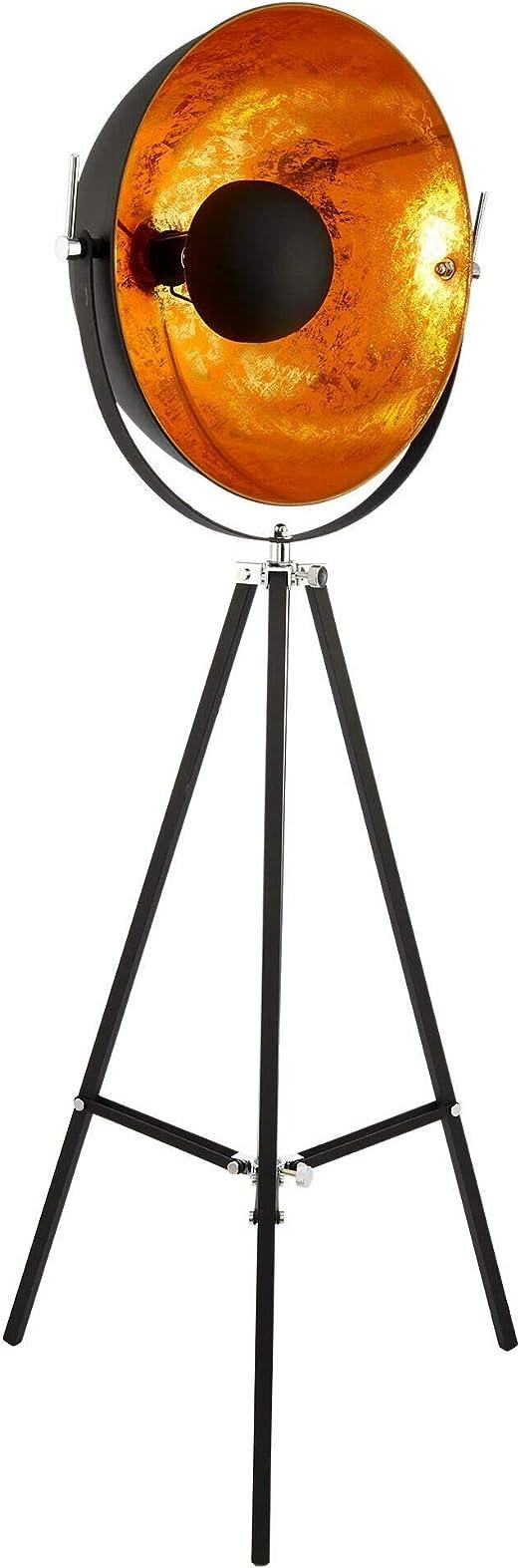 Butlers Satellight Standleuchte Aus Metall 165x60 Cm Stehlampe