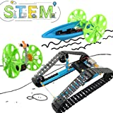 UNGLINGA STEM Toys Electric Motor Robotic Science Kit for Kids Intro to Engineering Building Project for Boys Girls Ages 10 11 12 13 14 Year Old Gift DIY Assemble Balance Car Tracked Tank Boat