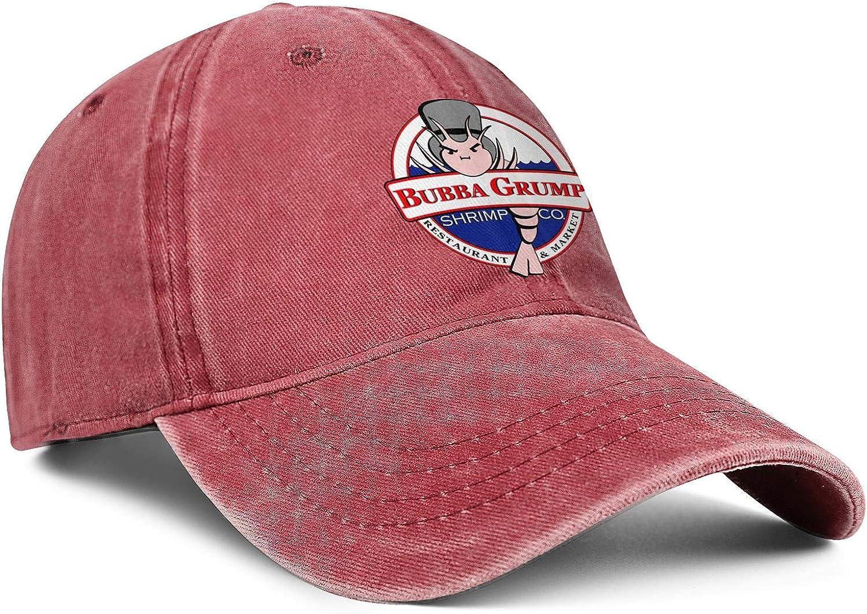 WintyHC Bubba Gump Shrimp-Logo Cowboy Hat Dad Hat One Size Baseball Cap