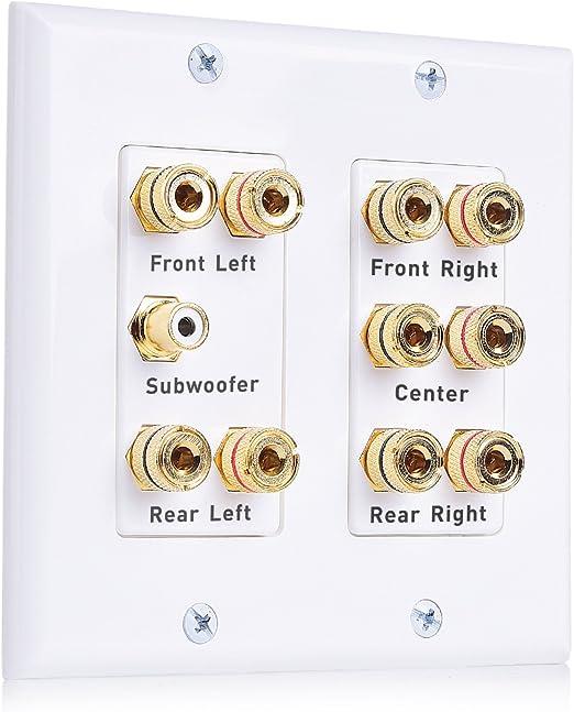 Stereo steckvebindung banaenstecker altavoces conexión con cable acoplables 2,5 4