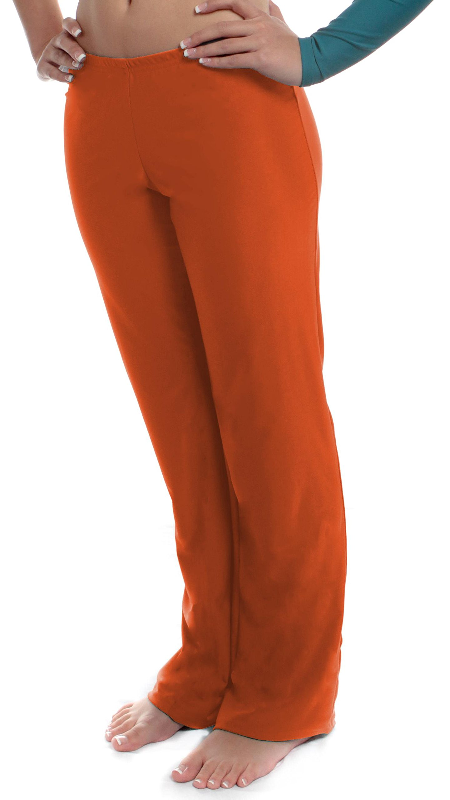 B Dancewear Girls Jazz Pants Small Orange Child and Kid Sizes by B Dancewear