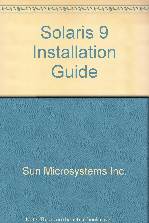 Download Solaris 9 Installation Guide pdf epub