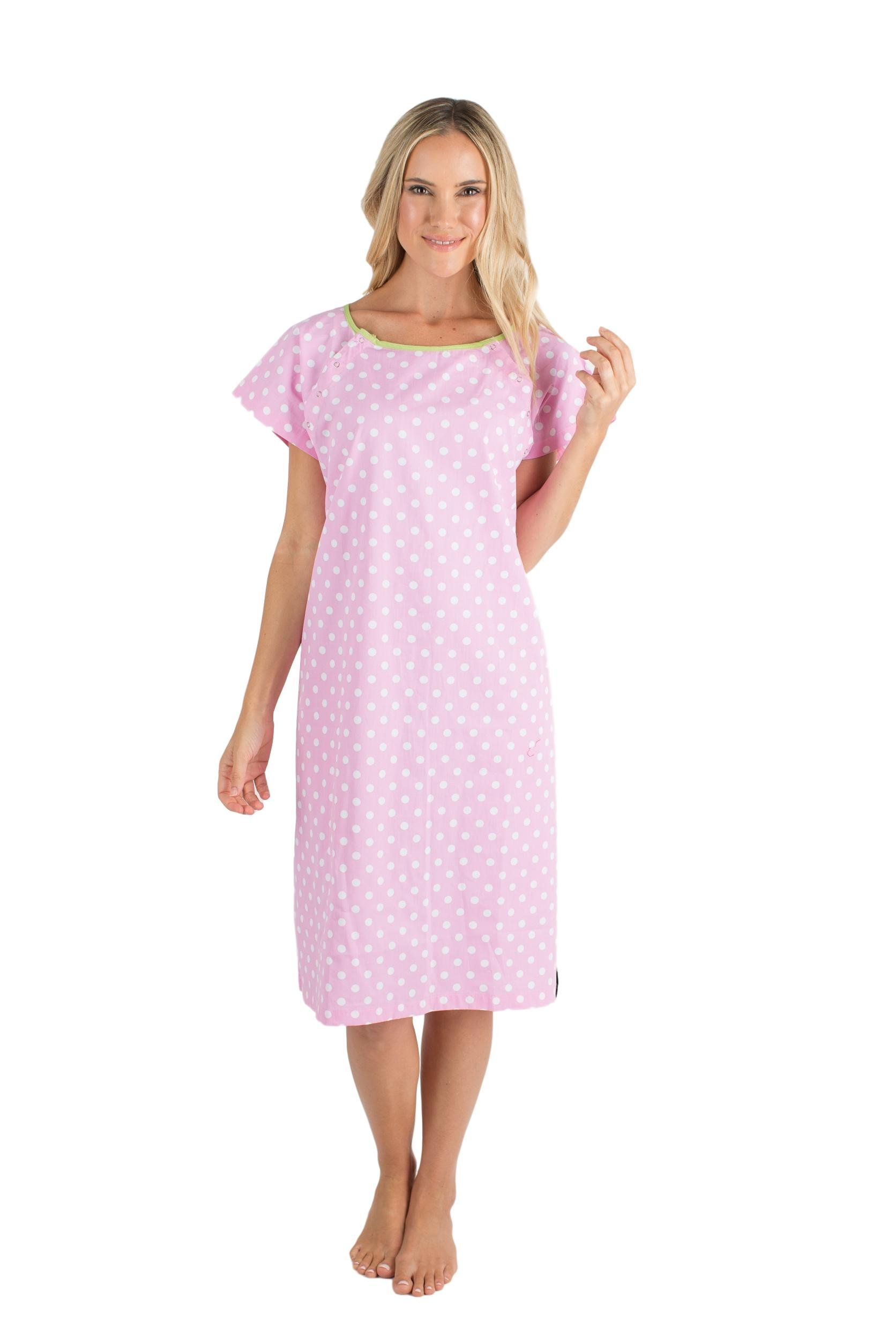 Gownies Hospital Patient Gown, Designer (S/M Size 0-10, Molly)